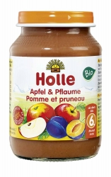 Holle baby food Apfel & Pflaume ab dem 6. Monat 190g