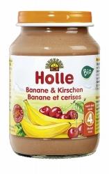 Holle baby food Banane & Kirschen nach dem 4. Monat 190g