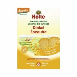 Holle baby food Bio Babyzwieback Dinkel nach dem 6. Monat 200g