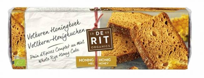 De Rit Vollkorn-Honigkuchen klein 300g
