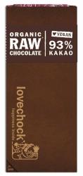 Lovechock Lovechock Tafel 93 % Pur Kakao 70g